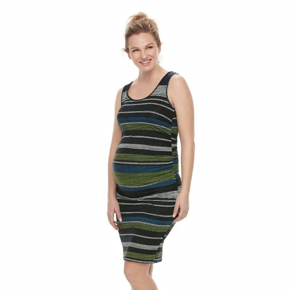 ab90c3a0975f2 a:glow Dresses | Maternity Aglow Ruched Tank Dress L Xl 2xl | Poshmark